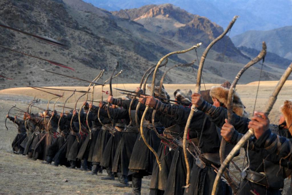 Монгольские лучники