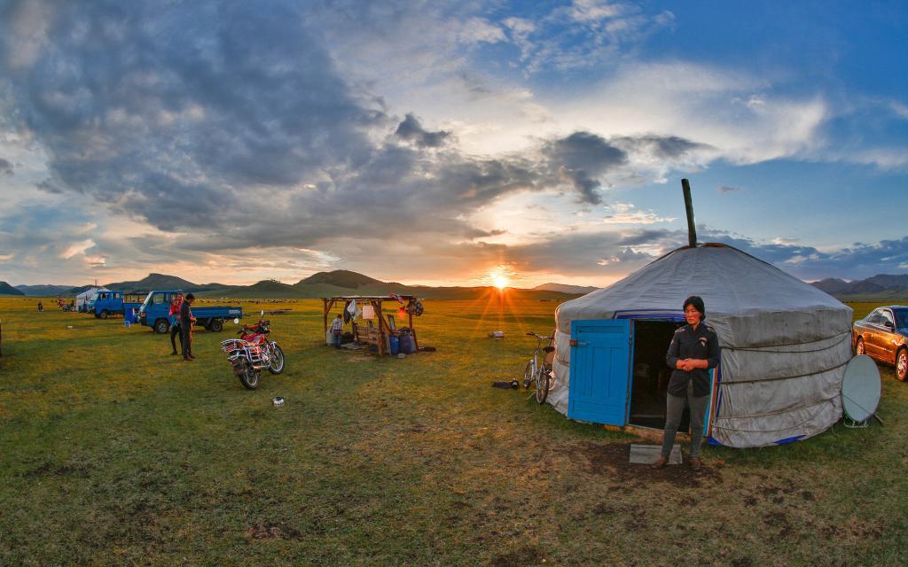 Юрта монголов