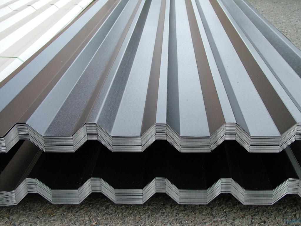 Профилированный лист для фасадной обшивки