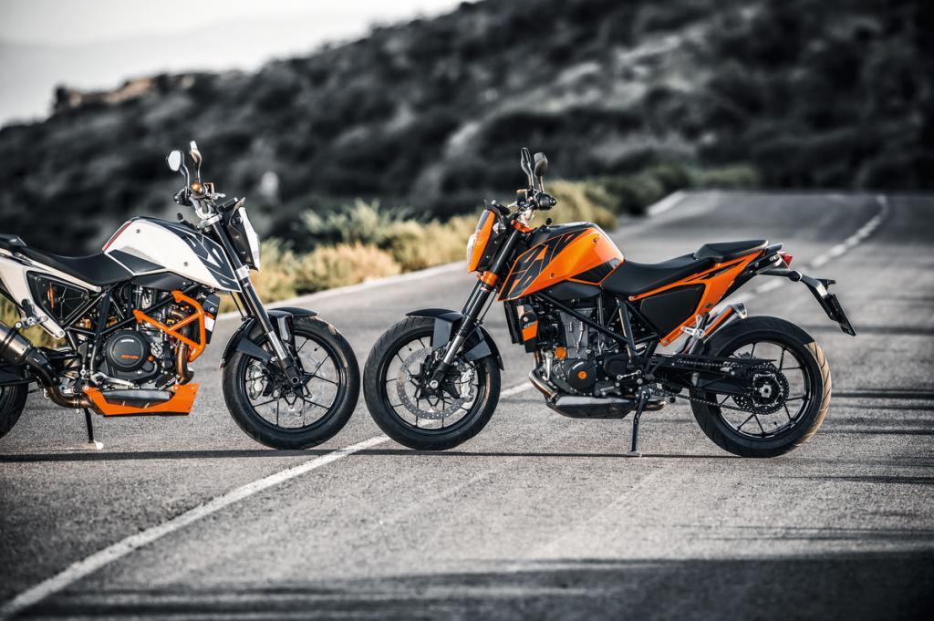 мотоциклы ктм дюк 690