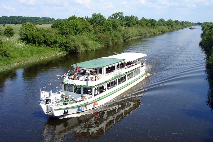 Река Везер нижнее течение