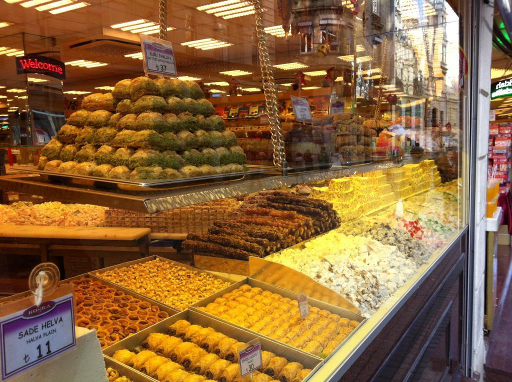 Магазин сладостей на улице Истикляль