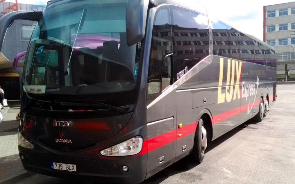 В Таллин на автобусе