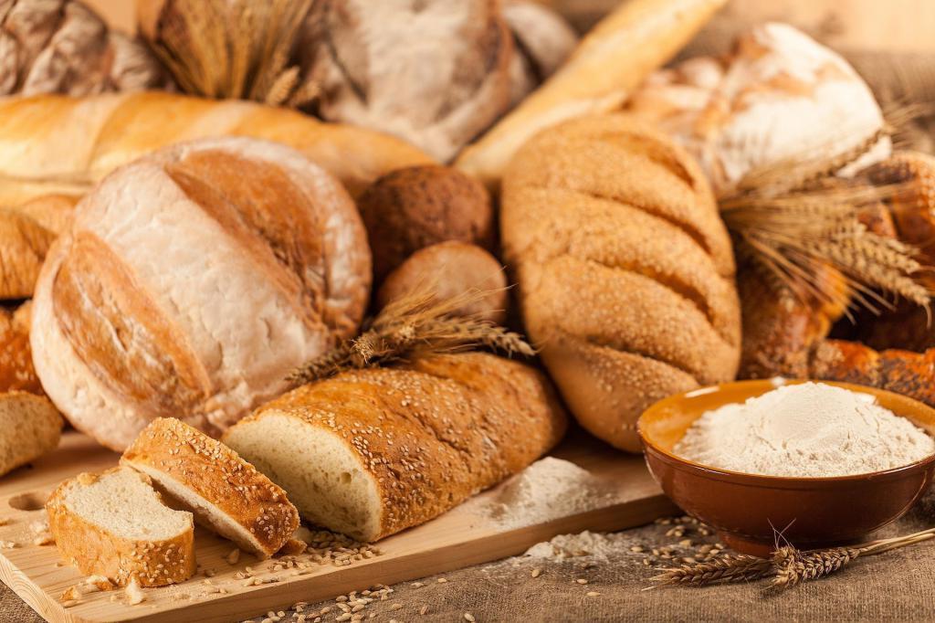 Существует множество вариаций хлеба