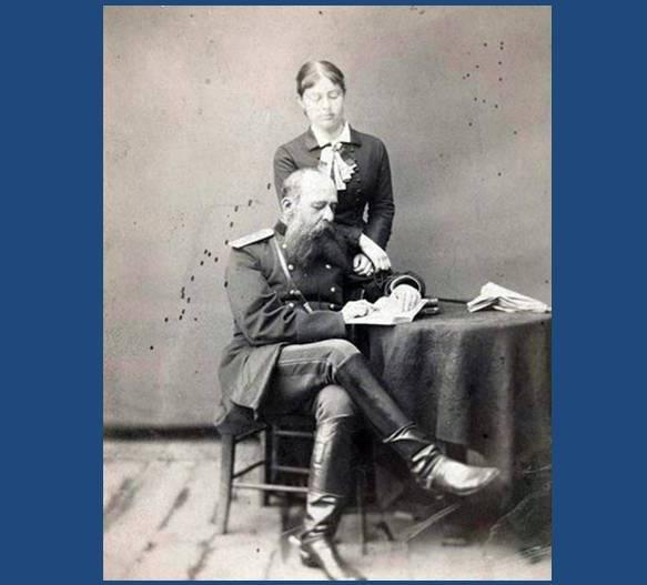 Столыпин А. с супругой