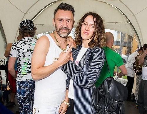 Елена с супругом