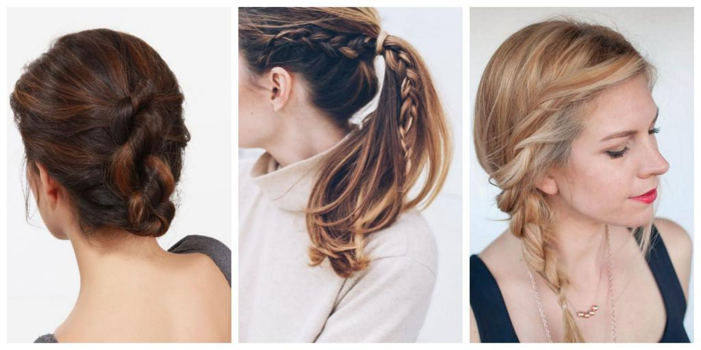как сделать прическу на средние волосы
