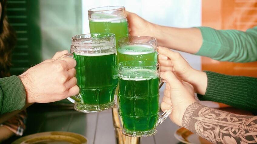 напиток зеленого цвета