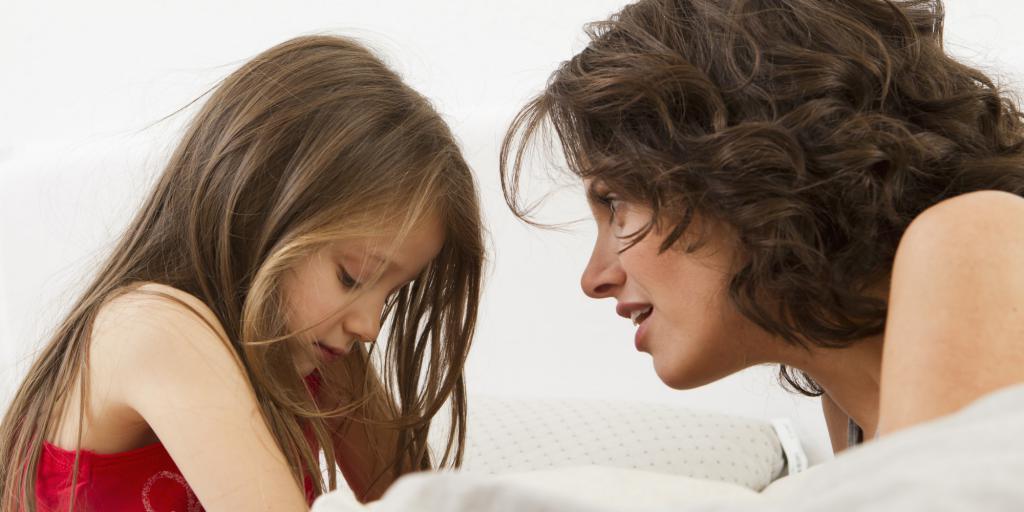 разговор с обиженным ребенком