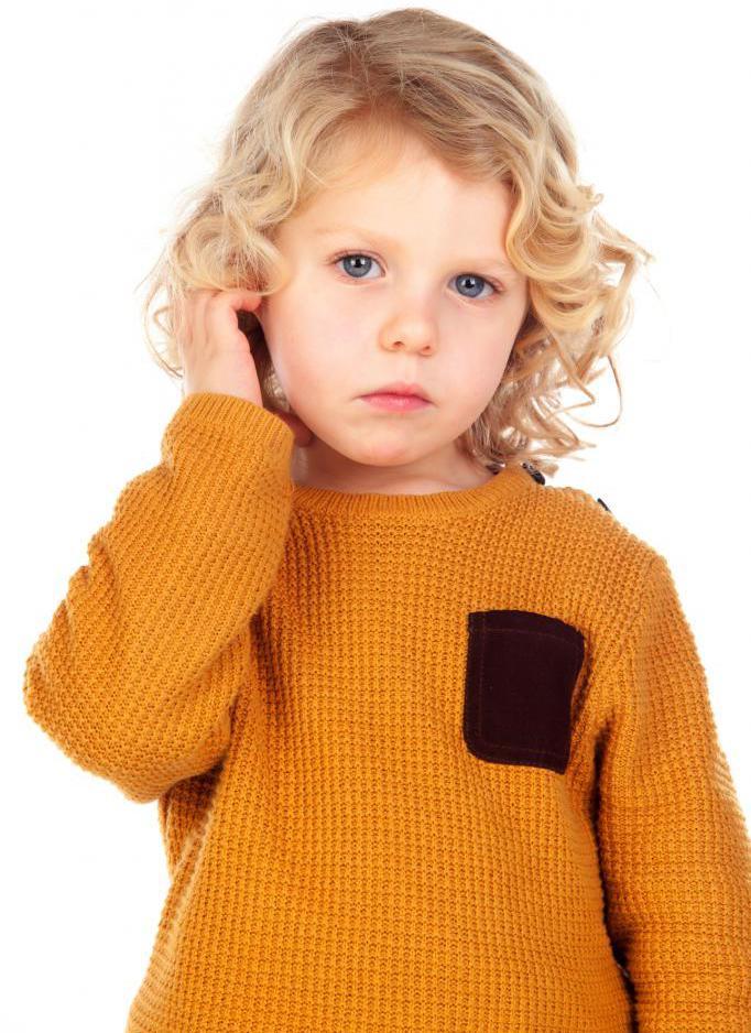 грустный и обидчивый ребенок