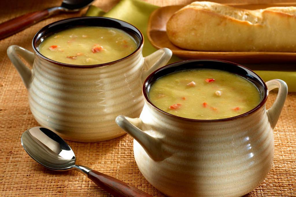 Диетический гороховый суп понравится гурманам