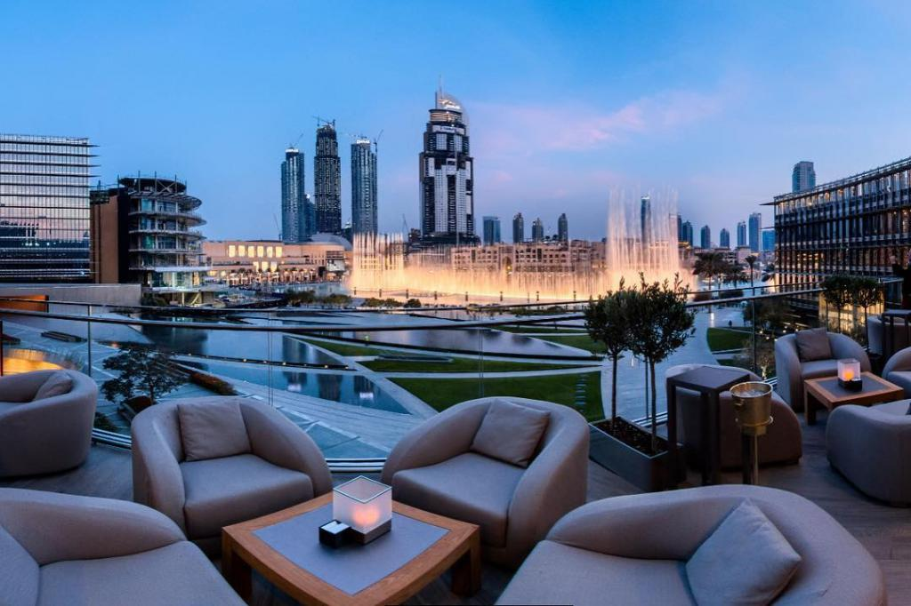 Отель в башне «Бурдж-Халифа»