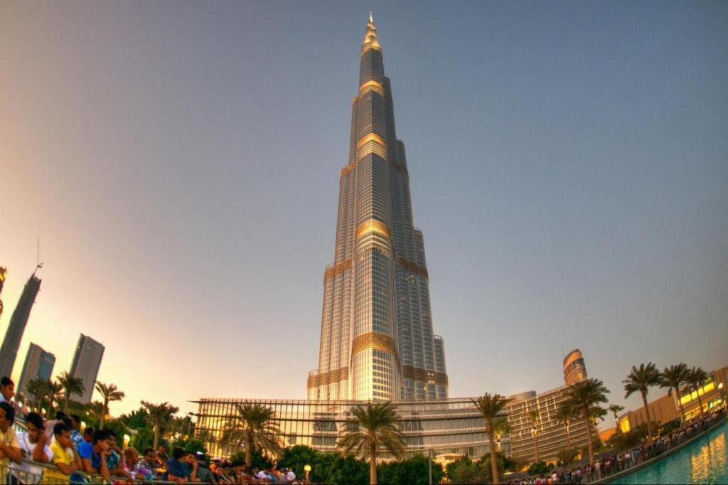 Отель «Бурдж-Халифа», Дубай
