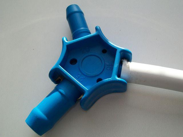 Расширение трубы из сшитого полиэтилена