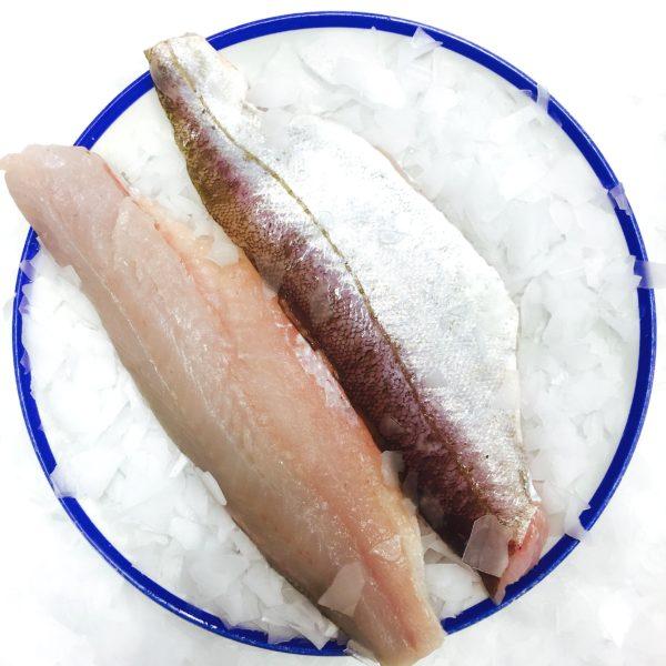 Разделанная рыба мерланг