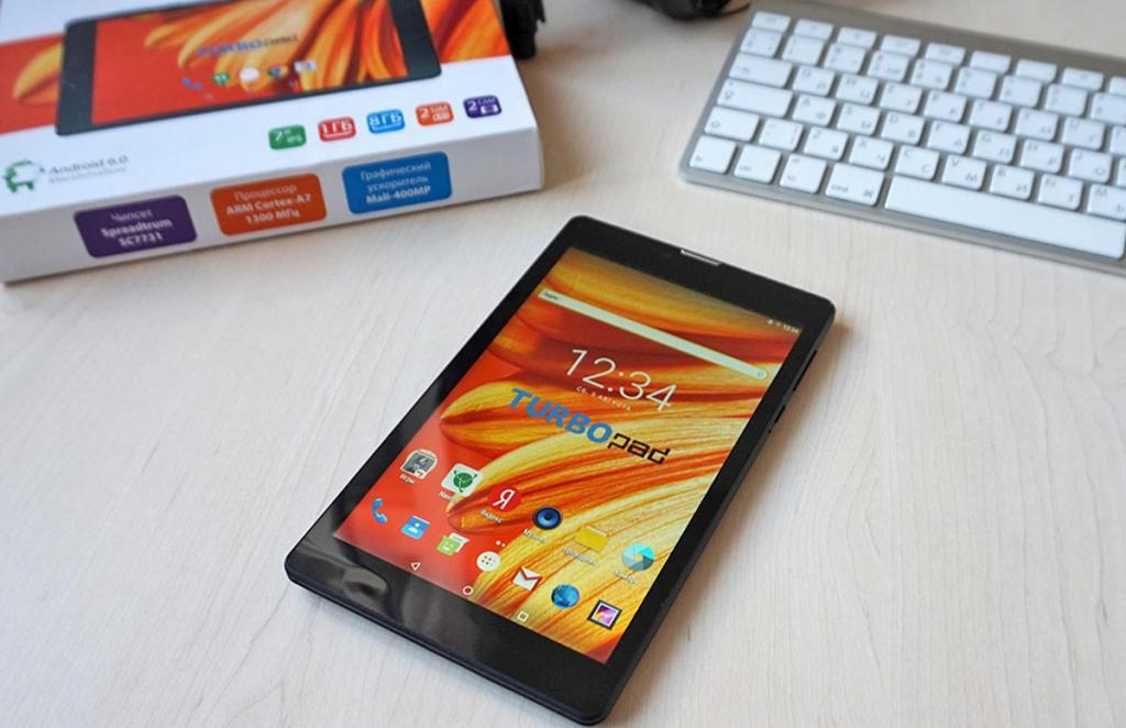 обзор планшета TurboPad 724