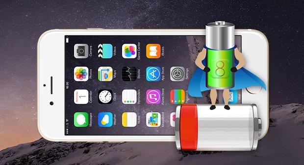 калибровка батареи iphone 6