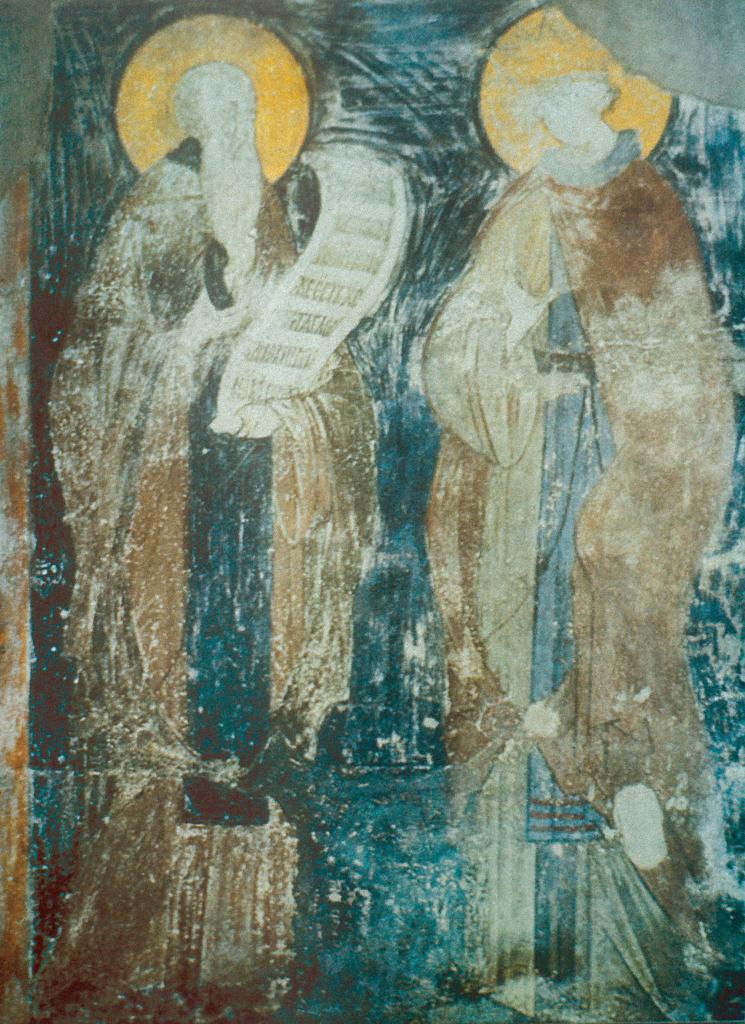 Преподобный Варлаам и его ученик царевич Иоасаф