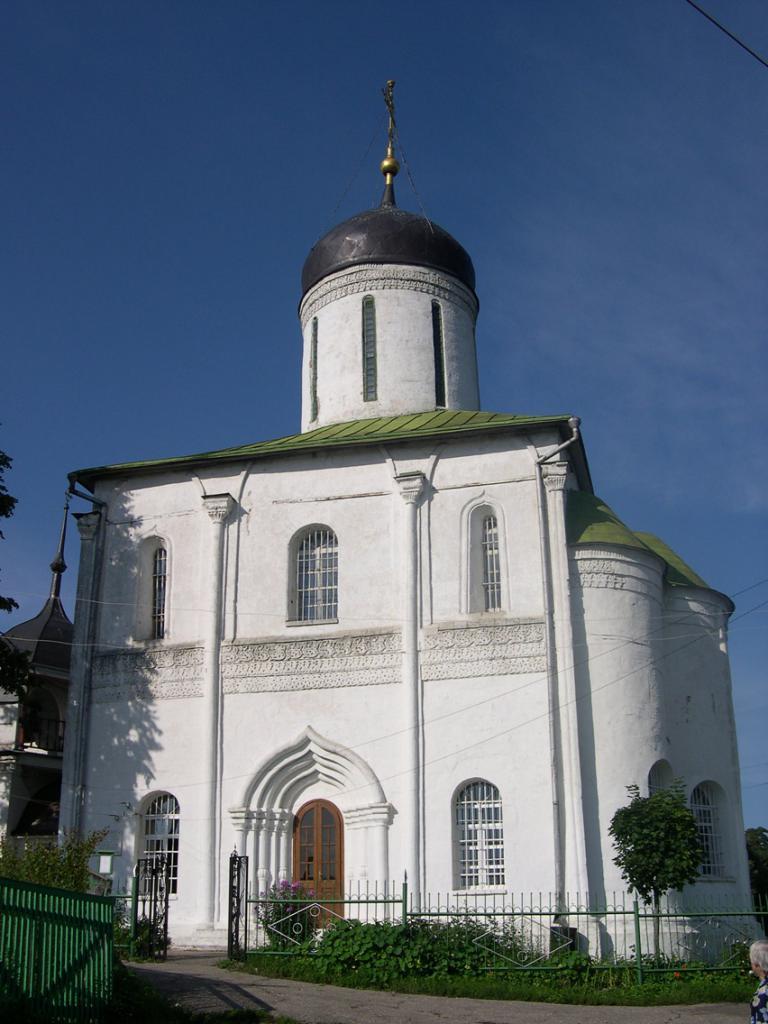 Где находится Успенский собор на Городке