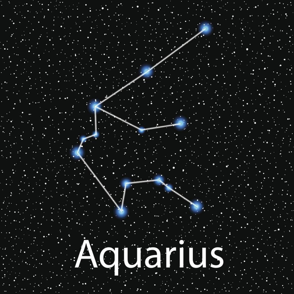 Созвездие знака Водолей