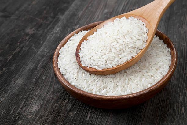 сырой рис для покраски
