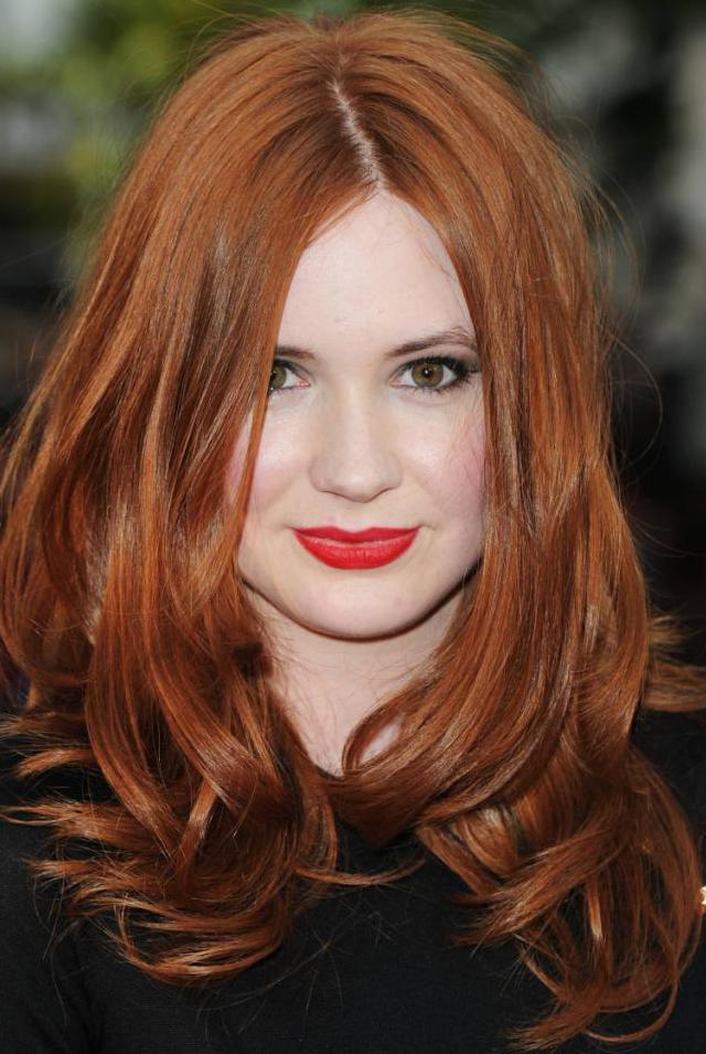 Натуральные рыжие волосы