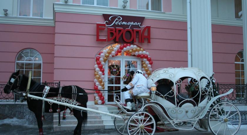 ресторан Европа Иркутск свадьба