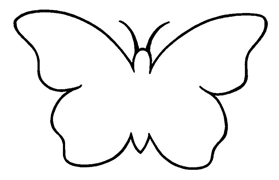 как вырезать бабочку трафарет