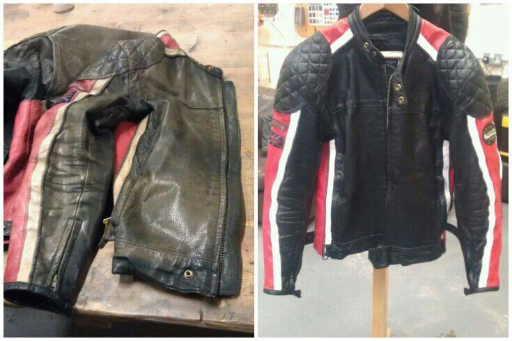 восстановить цвет кожаной куртки