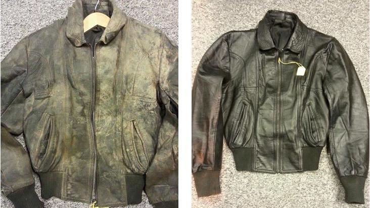 как восстановить кожаную куртку в домашних условиях