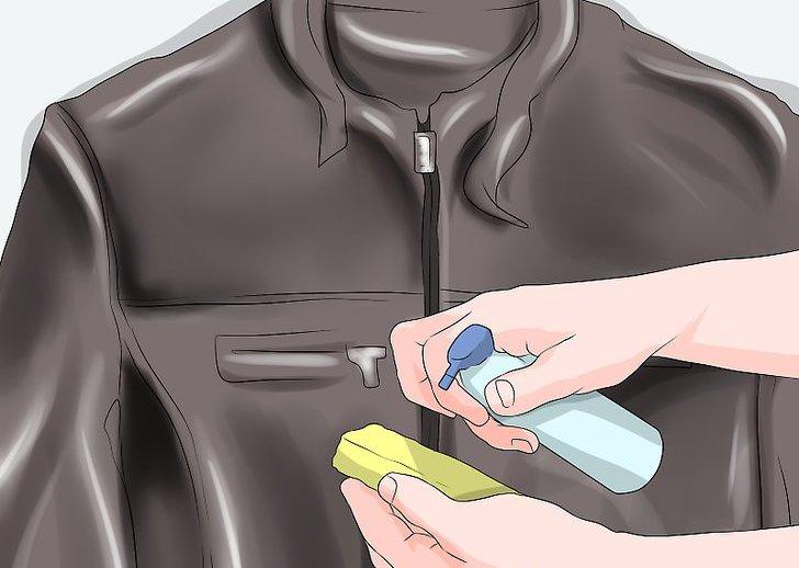 как восстановить кожаную куртку от потертостей