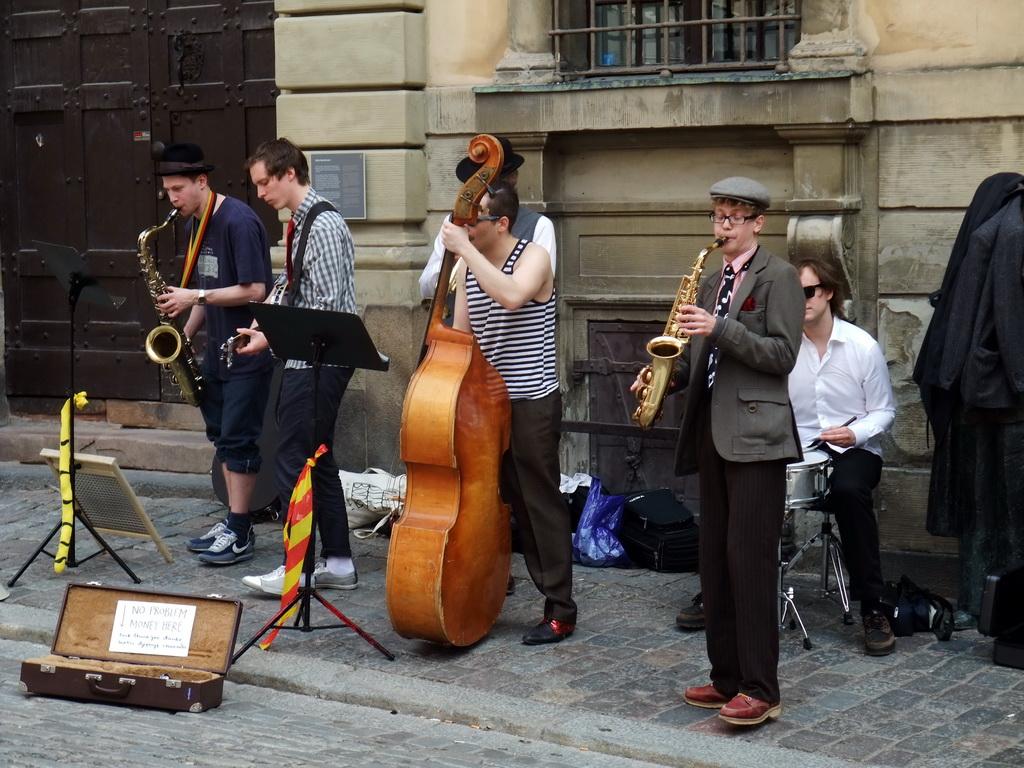 Современные уличные музыканты