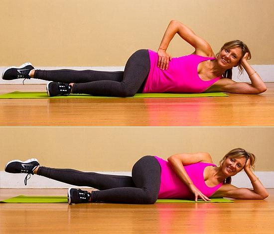 Как накачать мышцы боков