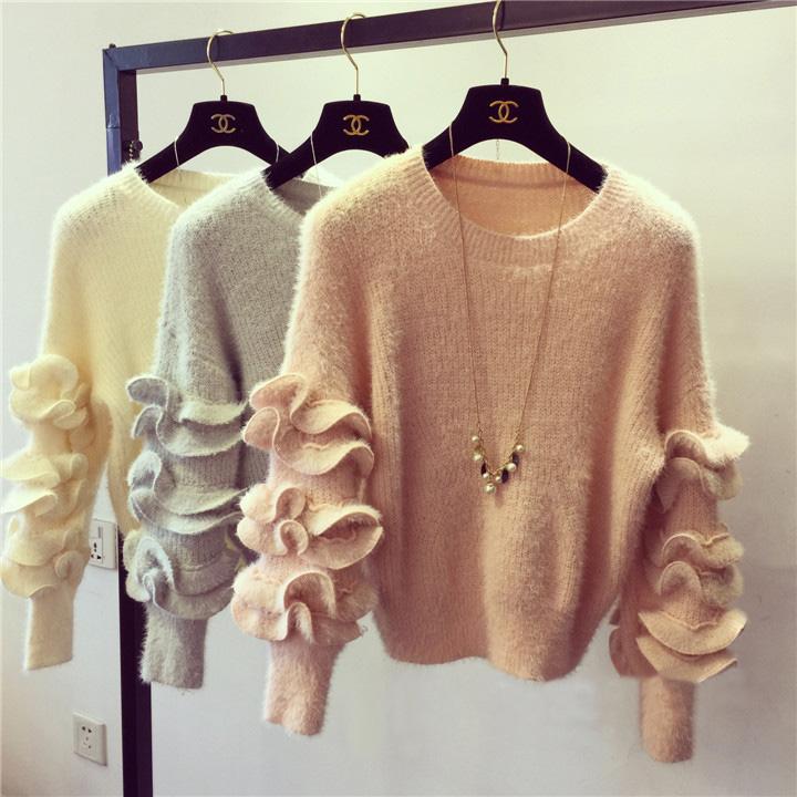 Модные расцветки женских кофт