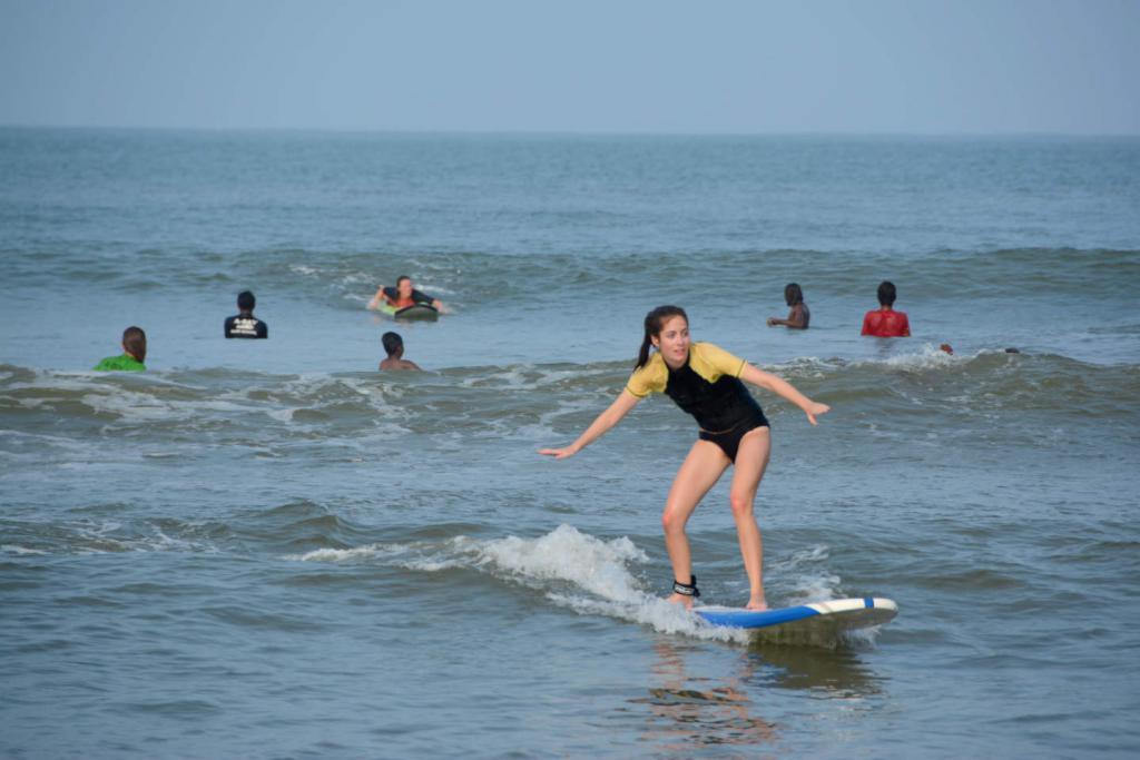 волны для новичков на Шри-Ланке