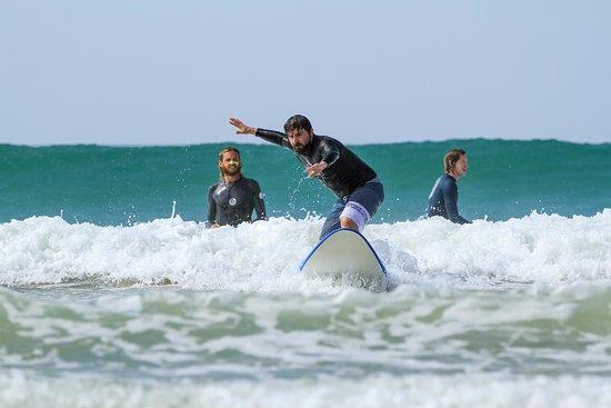 Серфинг в гидрокостюмах