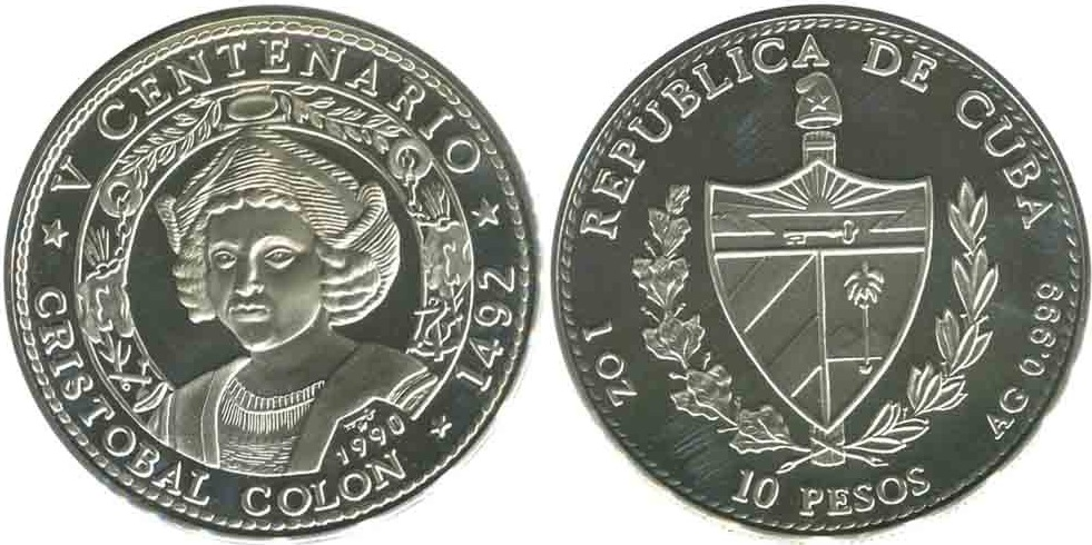 кубинский песо монеты