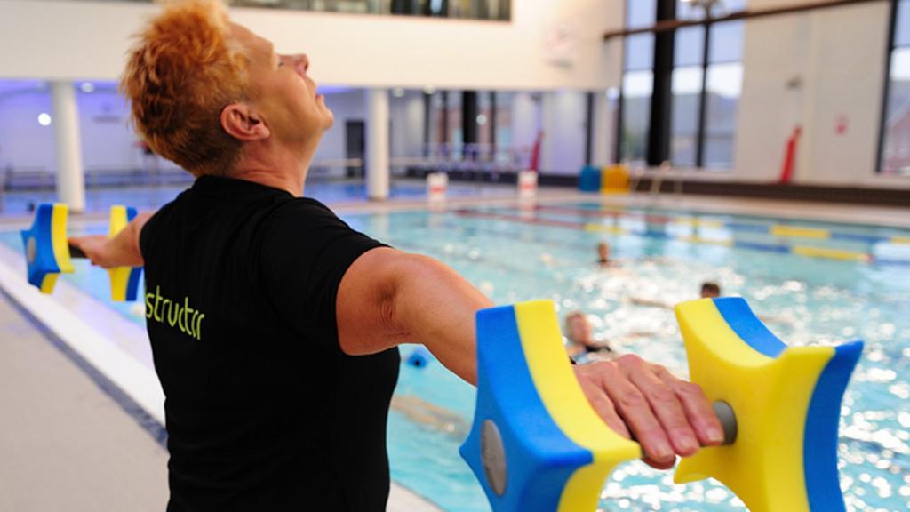 инструктор по лечебному плаванию