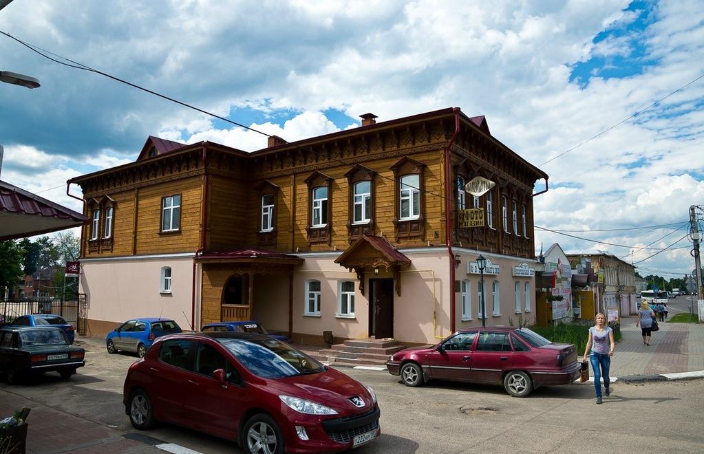 Стариное здание