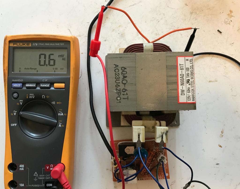как проверить исправность трансформатора мультиметром