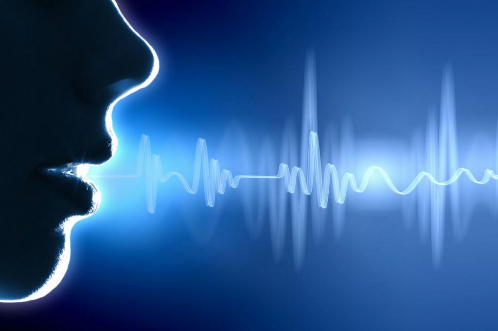изменение голоса в речи