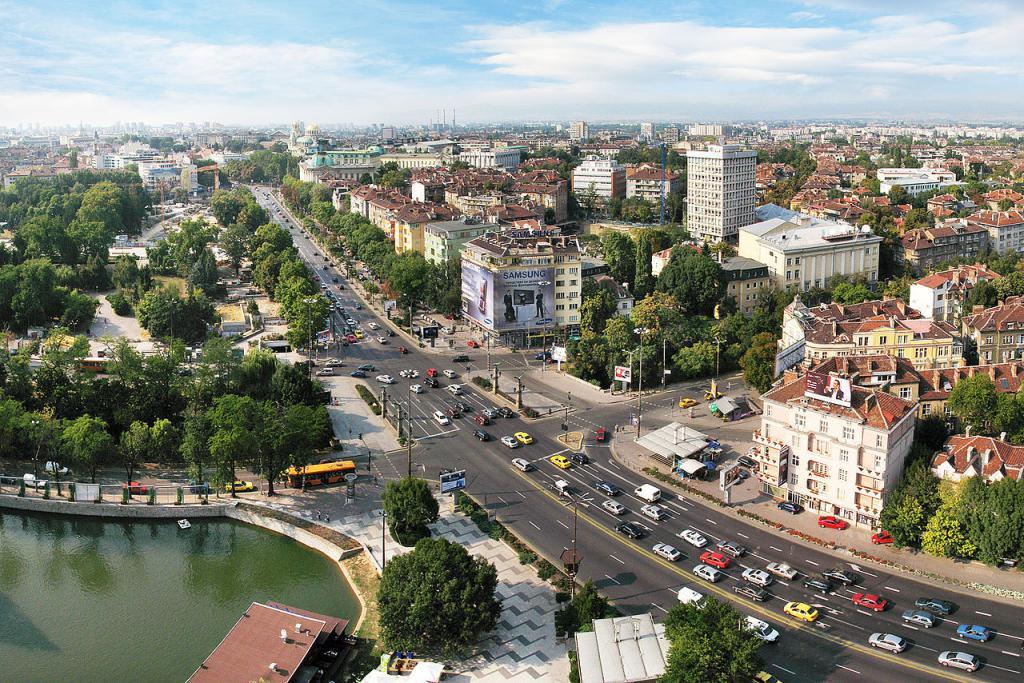 Улицы Болгарского города