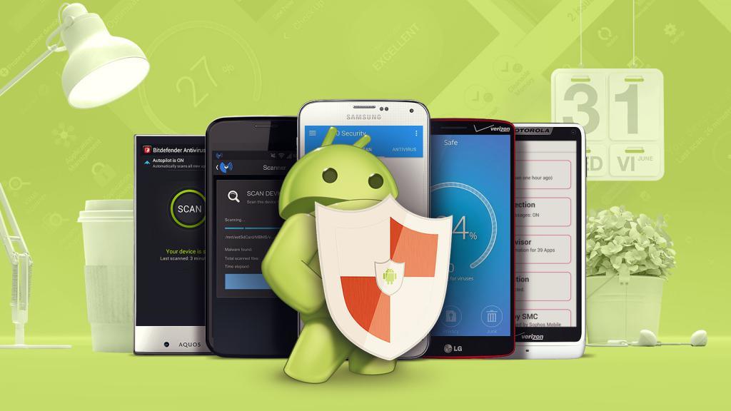 защита от вирусов на андроид