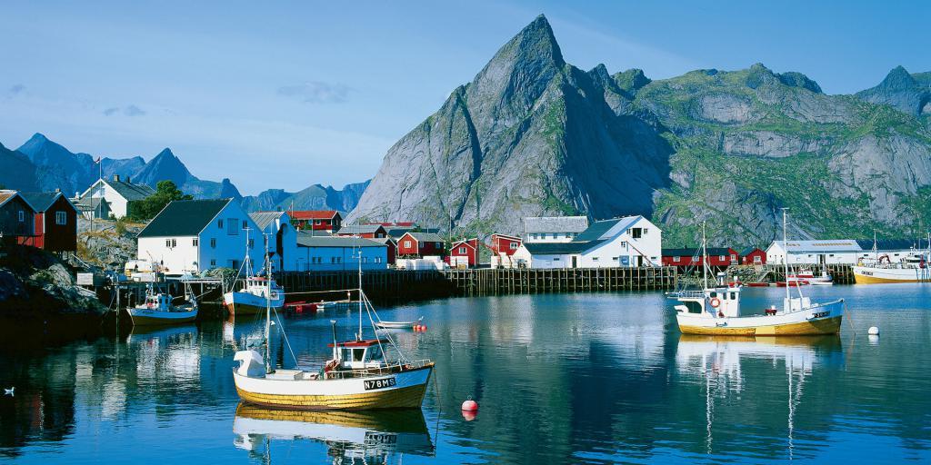 Рыболовные судна в Норвегии