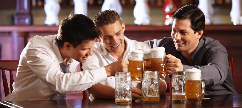 Выпивка - как своеобразный мужской обряд