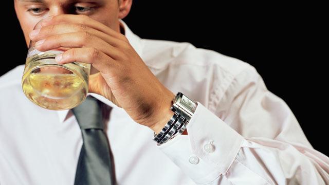 Алкоголь - как лекарство от депрессии