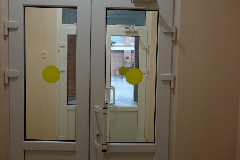 Внутренняя маркировка дверей в детском саду компенсирующего вида