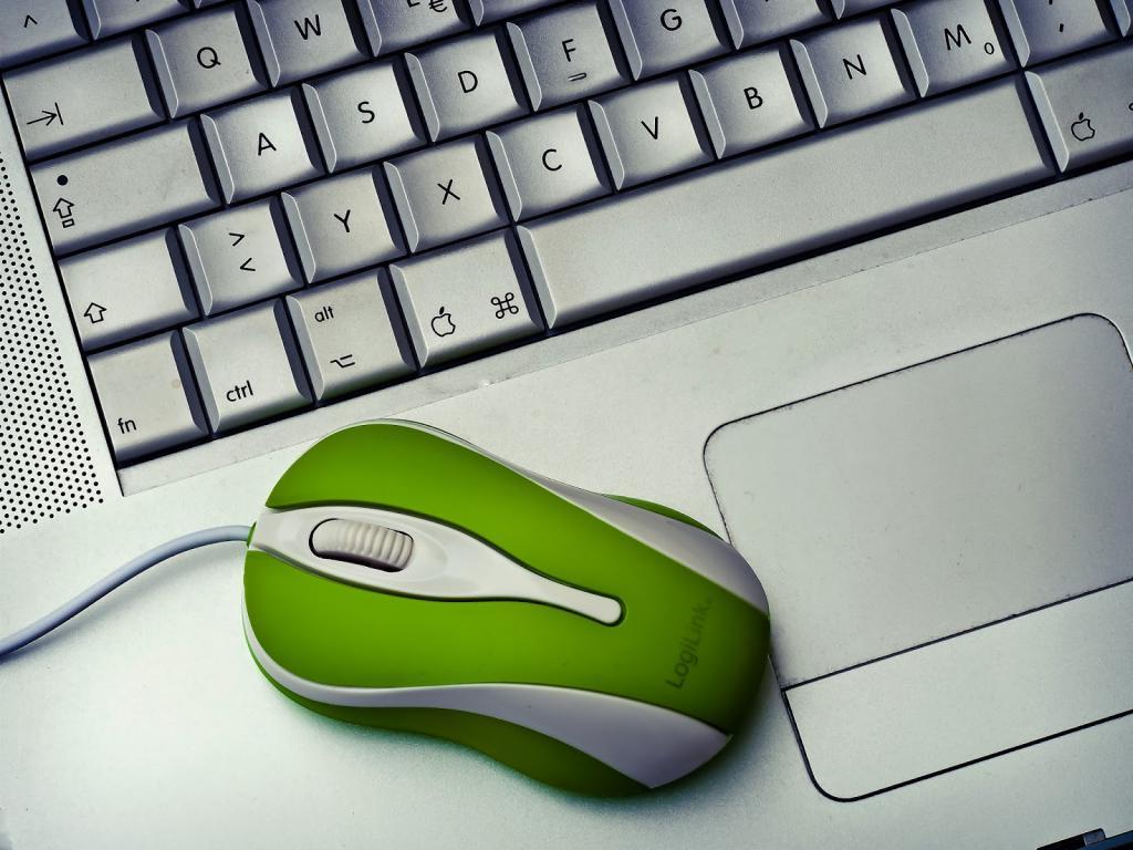 Мышь и клавиатура компьютера