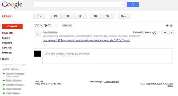 Рассылка спама