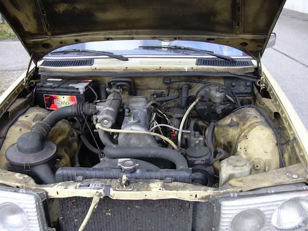 мерседес 102 двигатель 2